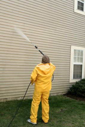 Pressure washing in Narberth, PA by 3 Generations Painting.