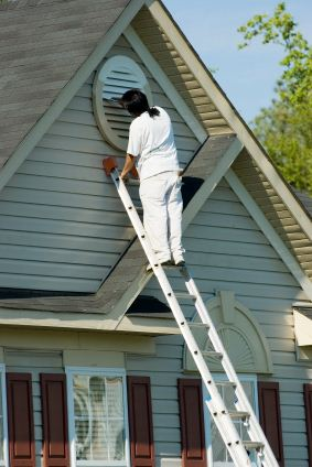 Exterior painting in Broomall, PA.